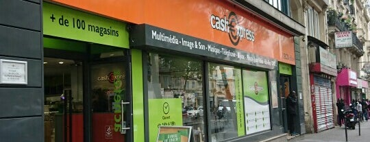 Cash Express is one of Paris.