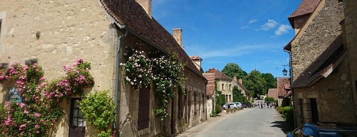 Apremont-sur-Allier is one of Les plus beaux villages de France.