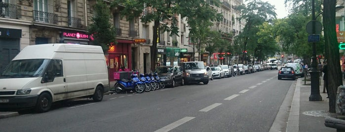 Avenue Secrétan is one of Paris da Clau.
