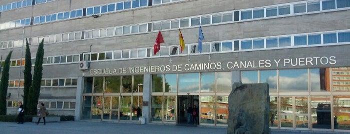 E.T.S.I. de Caminos, Canales y Puertos (UPM) is one of Ñ : понравившиеся места.