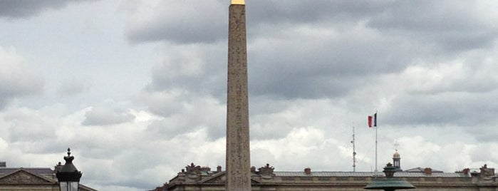 Obelisco di Luxor is one of Paris da Clau.