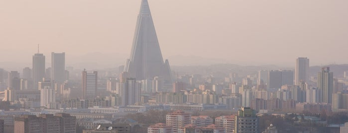 Ryugyong Hotel is one of Asia & Oceania.