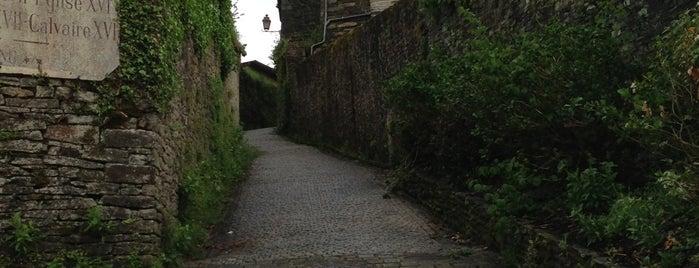 Rochefort-en-Terre is one of Les plus beaux villages de France.