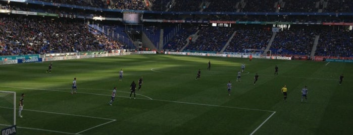 RCDE Stadium is one of The Great Football Pilgrimage.