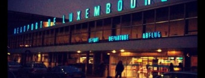 Aéroport de Luxembourg (LUX) is one of Airports (around the world).
