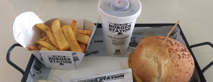 Hmbrgr- Home made Burger Station is one of Ankara.