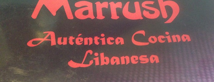 Marrush is one of Comer en Madrid.