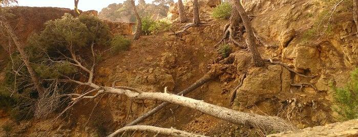 Camí de ronda de Calella el Golfet is one of Tempat yang Disukai jordi.
