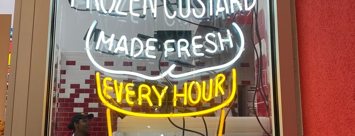 Andy's Frozen Custard is one of I scream.