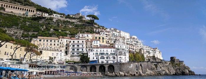 Amalfi Beach is one of Bella Italia.