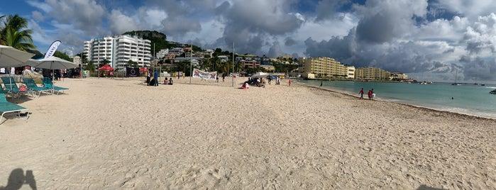 Kim Sha Beach is one of [ St. Martin ].