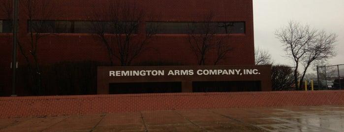 Remington Arms is one of Ingrid 😜'ın Kaydettiği Mekanlar.
