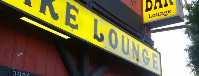 Silverlake Lounge is one of Music in LA.