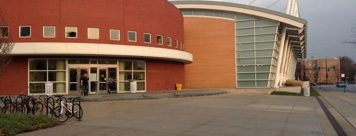Gerald Ratner Athletics Center is one of Locais curtidos por Rebecca.