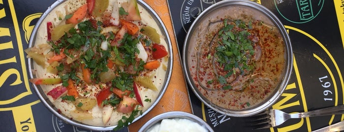Humusçu Nedim Usta'nın Yeri is one of türkiye lokantaları.