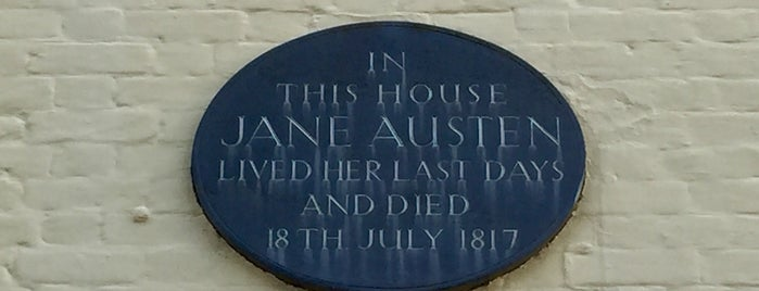 Jane Austen's Final Home is one of Orte, die Carl gefallen.
