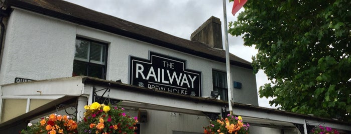 The Railway Inn is one of Lugares favoritos de Carl.