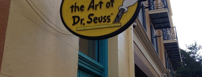 The Art Of Dr. Seuss is one of NOLA.