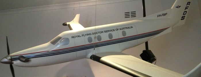 Royal Flying Doctor Service Museum is one of Aviation.