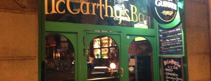McCarthy's Bar is one of mis sitios.