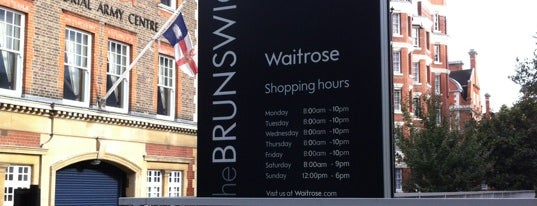 Waitrose & Partners is one of My London.