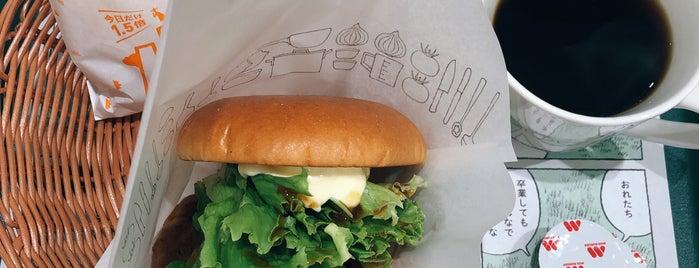 MOS Burger is one of สถานที่ที่ Tanaka ถูกใจ.