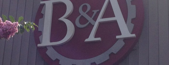 B&A Winery & Brewery is one of Sharon's Saved Places.