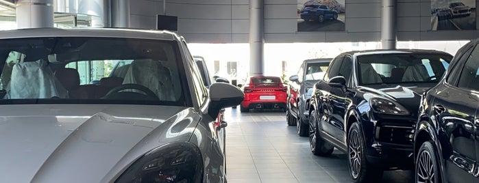 Porsche Showroom (Samaco) is one of Salim : понравившиеся места.