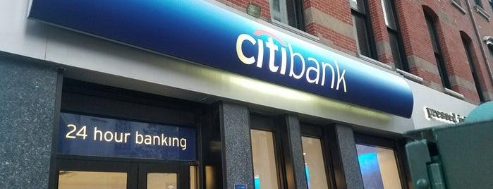 Citibank is one of Tempat yang Disukai Michael.