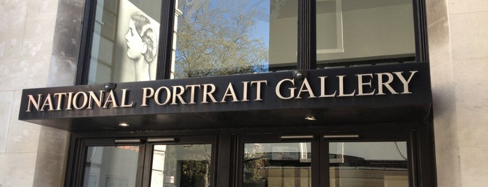 National Portrait Gallery is one of shopping.