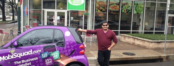 Fresh Healthy Cafe is one of Austin's Rockin' Fitness Scene.