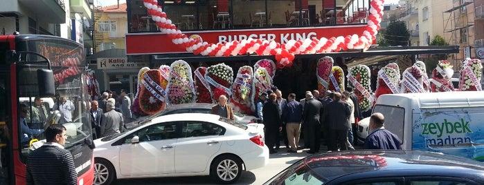 Burger King is one of Ayşe : понравившиеся места.
