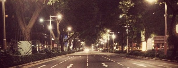Orchard Road is one of Lion City.