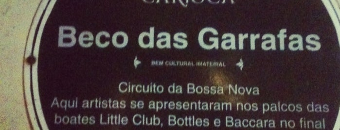 Beco das Garrafas is one of Brazil.