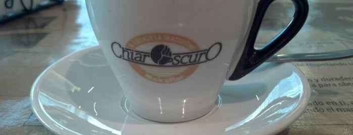 Caffe Chiaroscuro is one of Locais salvos de Felipe.