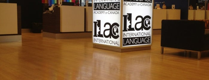 ILAC - International Language Academy of Canada is one of Nez: сохраненные места.
