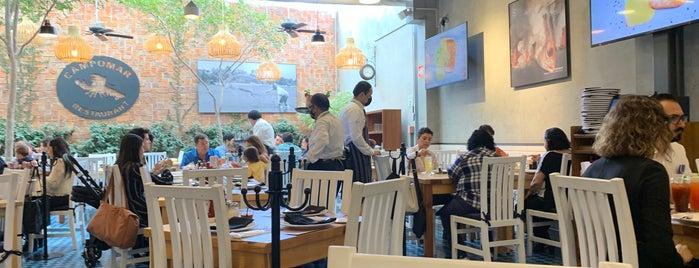Campomar Restaurante is one of Locais curtidos por Jhalyv.