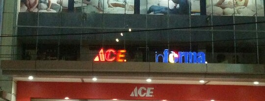 Ace Hardware is one of Locais curtidos por Clarissia.