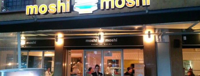 Moshi Moshi is one of Orte, die Alonso gefallen.