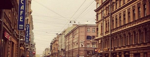 Суворовский проспект is one of Orte, die Yunus gefallen.