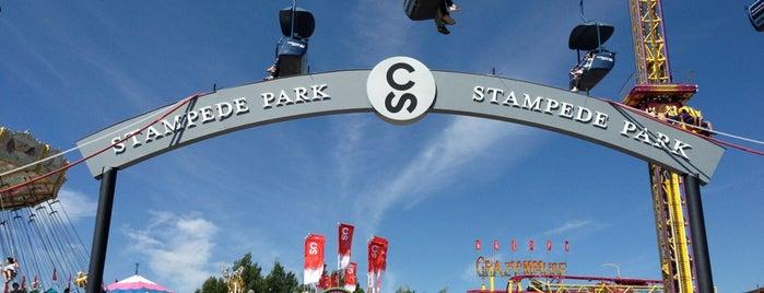 Stampede Park is one of Tempat yang Disukai Kevin.