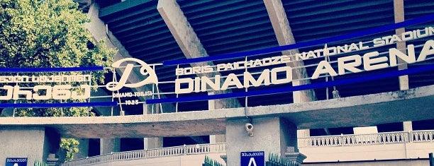 Dinamo Arena | დინამო არენა is one of Tempat yang Disukai Taia.