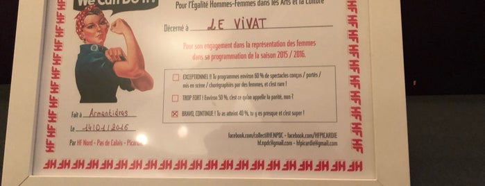 Le Vivat is one of Lille & Alentours.