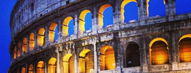 Colosseo is one of Rome, Winter 2015.