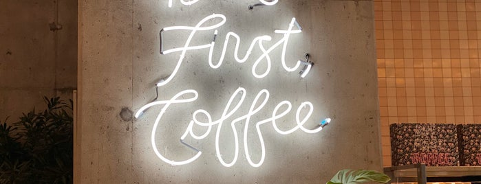 Alfred Coffee Koreatown is one of LA Food&Coffee.