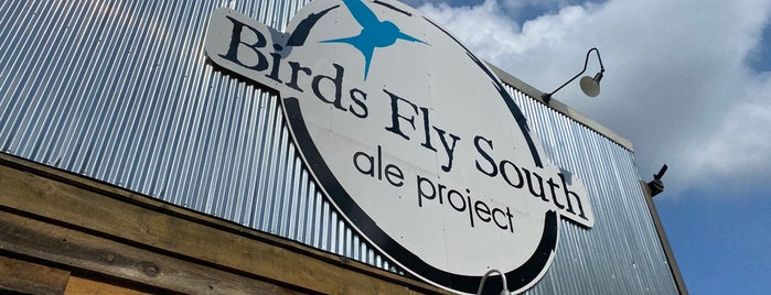 Birds Fly South Ale Project is one of Greenville, SC.