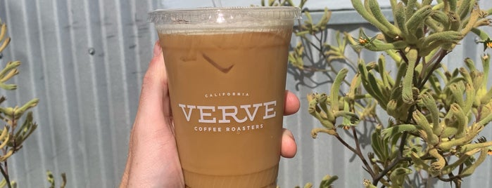 Verve Coffee Roasters is one of Santa Cruz awesome spots.