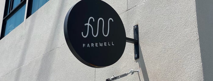 Farewell Coffee Company is one of Asheville.