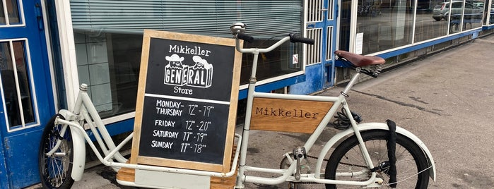 Mikkeller General Store is one of Copenhagen.