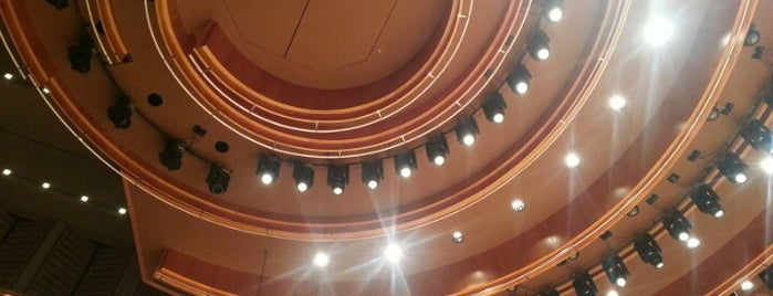 Adrienne Arsht Center for the Performing Arts is one of Lugares guardados de Elizabeth.